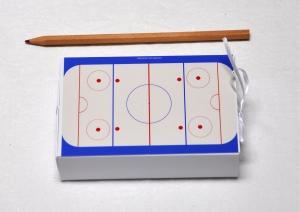 Geschenkschachtel - Geldgeschenk - Eishockey - Eishockeyfeld