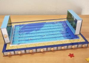 Adventskalender - Schwimmen - zum selbst befüllen - Sport