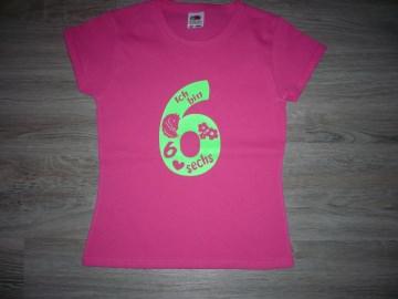 Geburtstagsshirt IICH BIN 6 Geburtstagsshirt mit Pferd Shirt Kindergeburtstag Geburtstag T-Shirt