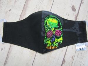Behelfsmaske für Mund und Nase  (Männer)    Skull, Totenkopf