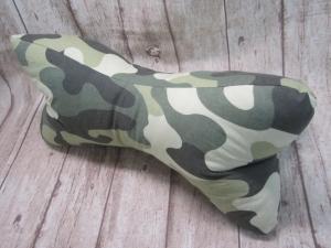 Nackenkissen/Leseknochen ♥♥  in sorgfältiger Handarbeit aus Stoff genäht    Camouflage