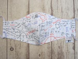 Behelfsmaske für Mund und Nase   (Frauen/Kinder ab ca. 11 J)   Mathe - Handarbeit kaufen