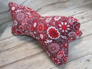 Nackenkissen/Leseknochen ♥♥  in sorgfältiger Handarbeit aus Stoff genäht
