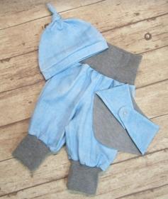 Babyset 3-teilig Gr. 62  ♥     - Handarbeit kaufen