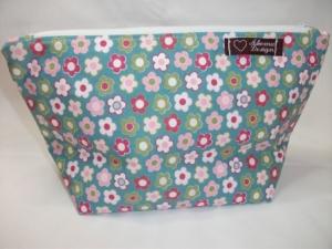 Tasche genäht mit Blütenmuster kaufen - Handarbeit kaufen