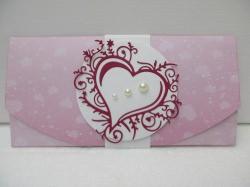 Handgemachte Karte für Hochzeit , Muttertag od. Geburtstag