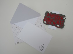 Handgefertigte Karte für Geldgeschenke und Gutscheine