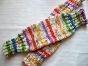 Babystulpen/Kleinkindstulpen, 35 cm lang, schön warm