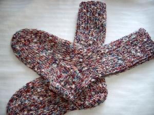 Schöne dicke gestrickte Socken ,Größe 36 - Handarbeit kaufen