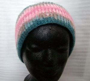 Schönes gehäkeltes Stirnband 54-56 cm Kopfumfang - Handarbeit kaufen