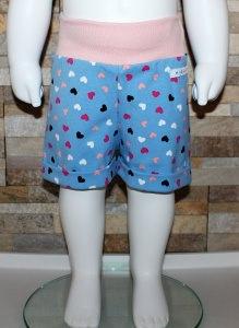 Babyshorts / kurze Hose / Shorts / Herzen Größe 56/62 / Halalino