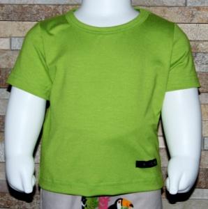 T-Shirt, Babyshirt, Shirt, unifarben, einfarbig, Halalino, Pistazie