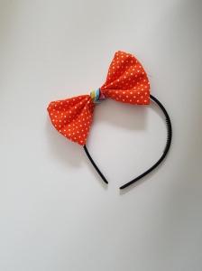 Stoffschleife mit Haarreifen ★ Karneval ★ Haarschmuck★