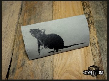 Tabaktasche rat Fair Veganes Leder Tabakbeutel