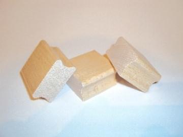 Stempelholz, Schulstempel Rohlinge 22 bis 40 cm² direkt vom Hersteller.
