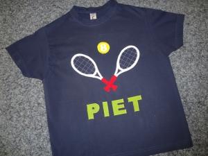 Geburtstagsshirt Tennis