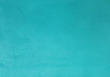 Puschenleder A4 türkis (turchese) ✂ Lederzuschnitt A4=0,063m² - (58.73 Euro/m²)