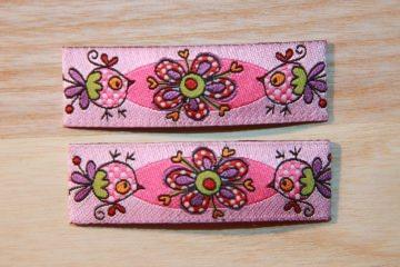 Haarspangenset 2 Stück Haarspangen rosa, Bliss Bird, Janeas World