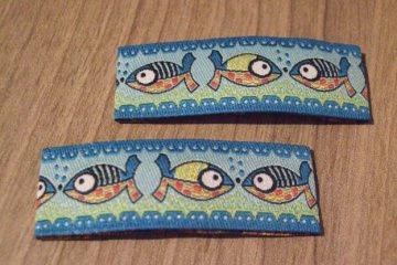 Haarspangenset 2 Stück Haarspangen Fische, Cala Mario
