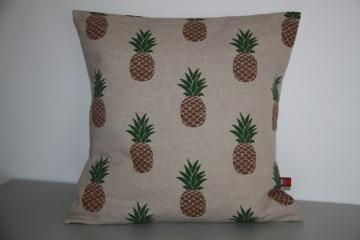 Kissenhülle Ananas natur passend für 40x40cm