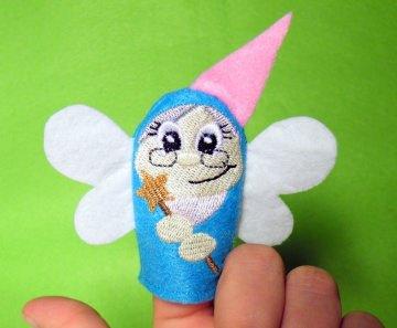 Fingerpuppe Fee - Handarbeit kaufen