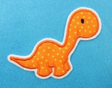 Applikation Aufnäher Dino
