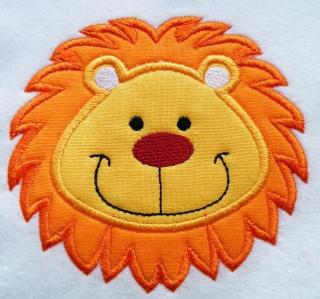 Applikation Aufnäher Löwe - Handarbeit kaufen