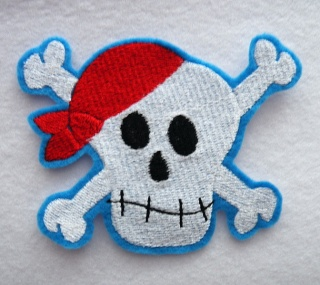 Totenkopf Scull Pirat - Handarbeit kaufen