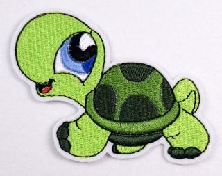 Stickerei Schildkröte - Handarbeit kaufen