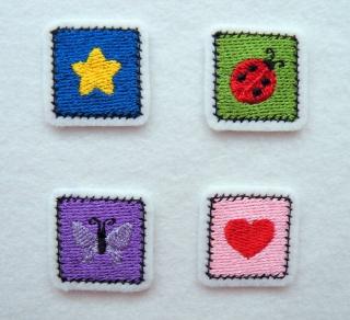 1 Patch für Jungen und Mädchen - Handarbeit kaufen