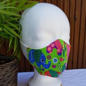 Mund und Nasen Maske Gesichtsmaske für Kinder 7-12 Jahre - Handarbeit kaufen