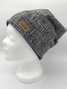 BLACK STRIPES Beanie