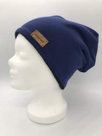 BLUE UNI Beanie, Winter Mütz