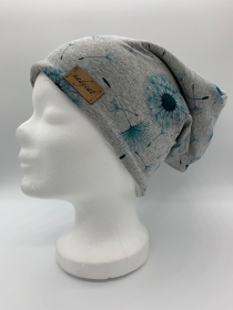 PUSTEBLUME PETROL Beanie, Winter Mütze, Übergangs Mütze