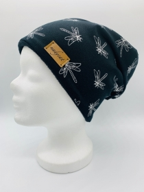 LIBELLEN Beanie, Winter Mütze, Übergangs Mütze, Frühlings Mütze