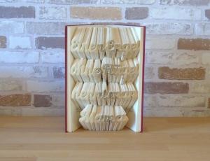 gefaltetes Buch - Einen Engel ohne Flügel nennt man Mama - Handarbeit kaufen