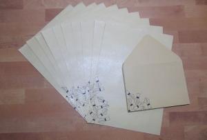 Briefpapier Set - Füllerspitzen // Brief // Letter // Schreiben // Geschenk - Handarbeit kaufen