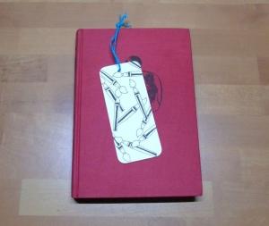 Lesezeichen - Pinsel // Leseratte // Bookmark // Bücherwurm // lesen - Handarbeit kaufen