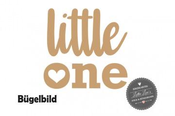 Glitzer Flock Effekt Bügelbild Geburtstag Birthday Baby Little One auch  mit Wunsch Name in Glitzer, Flock oder Effekt