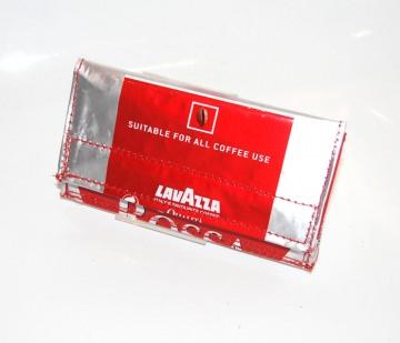 Trash-cash Kaffeeportemonnaie Lavazza rosso