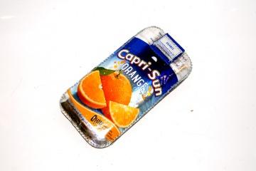 Upcycling Handysleeve Sun Orange ML