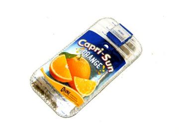 upcycling Handysleeve XL Sun Orange