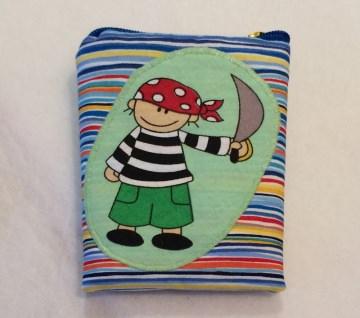 Gürteltasche  - der kleine Pirat - Pumpentasche - Handarbeit kaufen