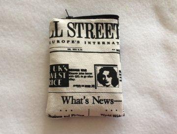 Gürteltasche  aus Zeitungsstoff - auch für Pumper - Handarbeit kaufen