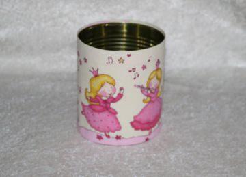 Prinzessin - Dosenbezug  - toll als Utensilo oder Stiftebox für das Kinderzimmer - Handarbeit kaufen