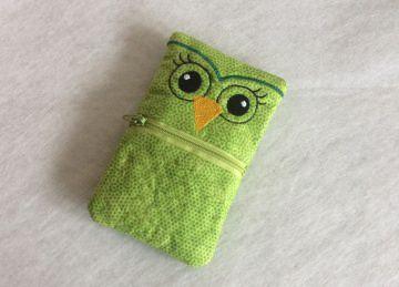 TaTüTa - wunderschönes Eulen Taschentuchtäschchen - Handarbeit kaufen