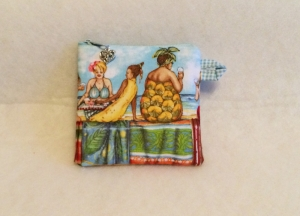 kleines Täschchen für allerlei Mädchenkram - Fruit Ladies