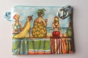 Mini Täschchen für Mädchenkram oder allerlei Krimskrams - Handarbeit kaufen