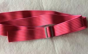 Bauchgurt, rosa Gürtel für Gürteltasche oder Pumpentasche - Handarbeit kaufen