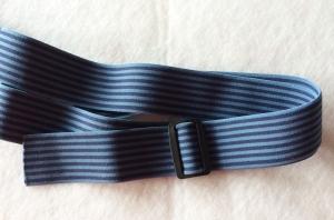 Bauchgurt, blauer Gürtel für Gürteltasche oder Pumpentasche - Handarbeit kaufen
